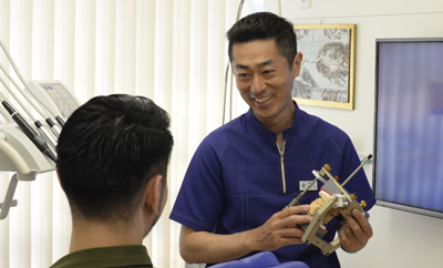 治療内容-顎関節症